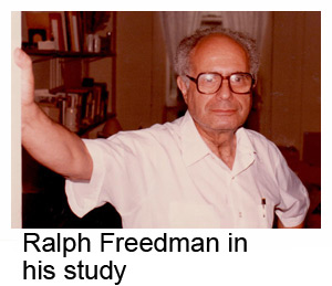 Ralph Freedman in his study