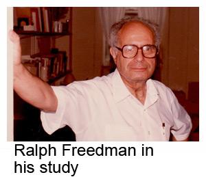 Ralph Freedman in his study