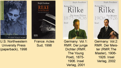 Rilke Reprints Translations
